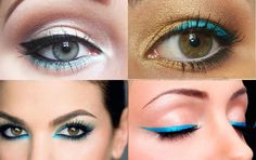 turquoise makeup Color Obsession: Turquoise  Embrace it in three easy ways, dress, nails, and  makeup