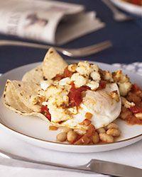 White Bean Huevos Rancheros Recipe on Food & Wine