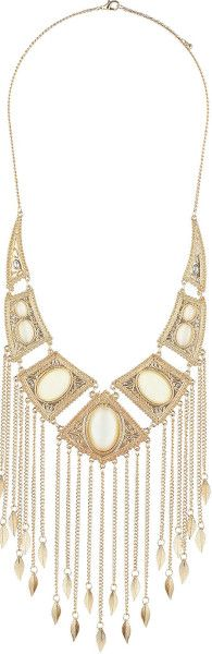 Love this: Catseye Stone Cascade Necklace @Lyst