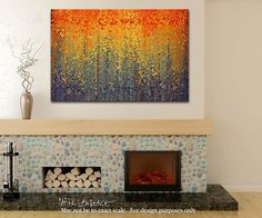 Christian Art | Psalm 119:10. Let Me Not Wander | Modern Abstract Painting