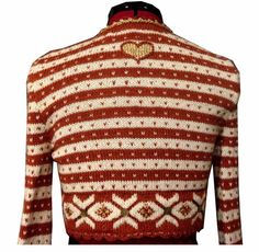 Ravelry: Bolero Fritt etter Fana pattern by Sidsel J. Knitting Designs, Knitting Patterns, Crochet Patterns, Norwegian Knitting, Pullover, Christmas Sweaters, Knit Crochet, Men Sweater, Hat