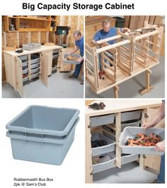 Big Capacity Storage Cabinet would be awesome for storing excess lures, line and other fishing equipment