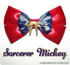 Magical Ribbons - Sorcerer Mickey