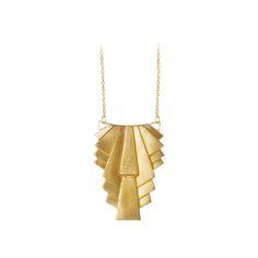 Pendulum Halskæde, Collar, Guld