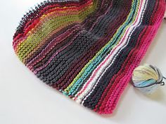 Ravelry: The Wonder Blanket pattern by Evelyn Leong...use up scraps