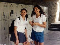 MEGHAN WITH SCHOOL FRIEND