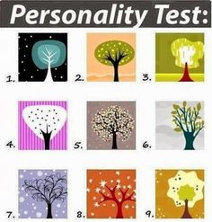 Look at the tree and choose the one that is immediately most appealing to you. Don't think about it too long, just choose, and find out what your choice says about your personality. write down your choice in the comments.… Continue Reading →