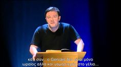Ricky Gervais The Bible greek subs