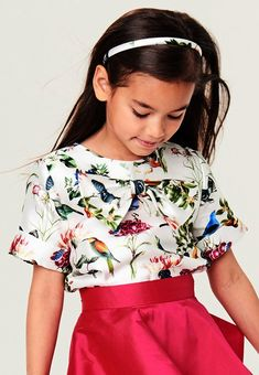ALALOSHA: VOGUE ENFANTS: Must Have of the Day: Sweet Easter Styles by Oscar de la Renta