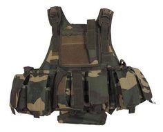 MFH Tactical Weste Ranger, woodland / mehr Infos auf: www.Guntia-Militaria-Shop.de