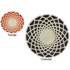 @Overstock - nuLOOM Handmade Abstract Round Rug - Quality meets value in this beautiful modern area rug. Handmade with modified acrylic to prevent shedding, this plush area rug will enhance any home decor.  http://www.overstock.com/Home-Garden/nuLOOM-Handmade-Abstract-Round-Rug/7538710/product.html?CID=214117 $285.59