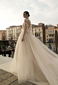 Inbal Dror 2015 Venice Collection  See more on Love4Wed  http://www.love4wed.com/inbal-dror-venice-collection-2015/   #Inbal #dror #2015  #gowns  #bridal #wedding #inbaldror #backless #lace