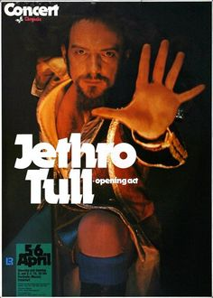 Jethro Tull - A Passion Play 1973 - Poster Plakat Konzertposter