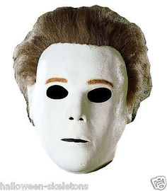 Halloween Michael Myers Mask-  You Become the Halloween Prop