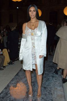 cool The 10 Best Celebrity Style Trends From Fashion Month on Kim Kardashian West, Rihanna, and More... Celebrity Style Check more at http://pinfashion.top/pin/69679/