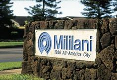 Mililani Hawaii...where i've spent the last 2 years of my life. the perfect lil hawaiin country town
