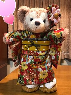 :o Amazing ShellieMay in traditional Japanese clothing Japanese Clothing, Japanese Outfits, Duffy The Disney Bear, Disney Love, Cute Japanese, Traditional Japanese, Disney Dreams, Poster Ideas, Teddy Bears