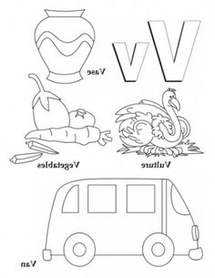 amazing attractive letter v coloring page httpcoloringalifiahbiz