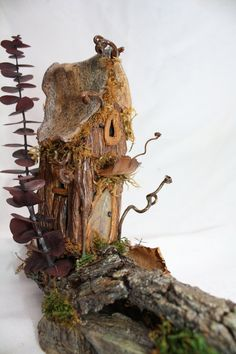 Oak Tree Fairy House