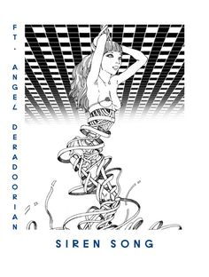 Flying Lotus - Siren Song (Artwork by Shintaro Kago) Arte Horror, Horror Art, Lotus Artwork, Ero Guro, Cool Doodles, Japanese Artwork, Sketch Inspiration, Sketch Ideas, Manga Artist