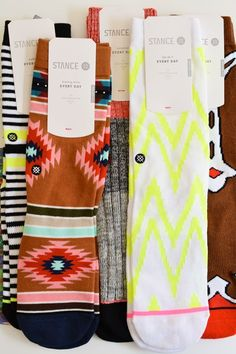 Stance Socks are my favorite gift.  Men, women and children. They come in the best patterns and colors!