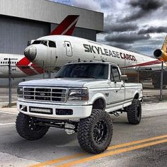 Ford truck 2003 Ideas for 2019 Ford Pickup Trucks, Ford 4x4, 4x4 Trucks, Custom Trucks, Cool Trucks, Chevy Trucks, Ford Bronco, Lifted Trucks, Ford Diesel