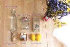 Matériel et ingrédients