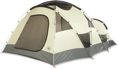 Big Agnes Flying Diamond 8 Tent - Reviews suggest that it would make a fine winter tent. Also, it's an 8 person tent (Which we all know means closer to 5 or 6 people, but it's fine for my 4 person family and all of our stuff.)