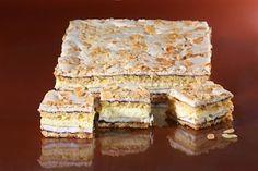 Przepis na Pani Walewska (Pychotka) Hungarian Cake, Polish Recipes, Polish Food, Gumbo, Pavlova, Deli, Cake Recipes, Sweet Tooth, Sweets
