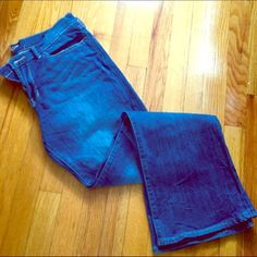 Lucky brand jeans Lucky Brand Jeans. Flared / wide leg. 'Sweet and low ' Worn only 3-4 times. Lucky Brand Jeans Flare & Wide Leg