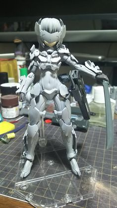 埋め込み Cyberpunk Girl, Cyberpunk Character, Cool Robots, Cool Toys, Toy Story Figures, Action Figures, Character Concept, Concept Art, Sci Fi Anime