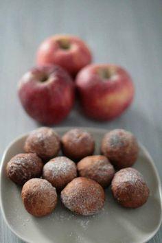 frittelle mele pasta madre - apples sourdough vegan sweets