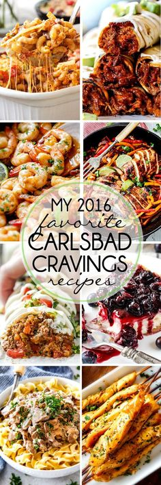 My personal FAVORITE recipe from 2016! These need to go on your MUST MAKE LIST!