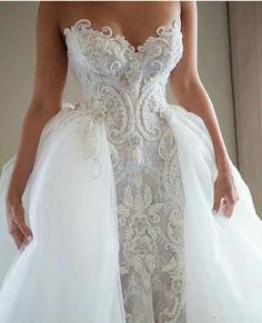 Replica Wedding Dresses from The USA This beaded embroidery on this wedding gown can be recreated in your custom wedding dress. Our firm creates all types of. Wedding Dress Types, Making A Wedding Dress, Celebrity Wedding Dresses, Custom Wedding Dress, Wedding Dress Trends, Gorgeous Wedding Dress, Dream Wedding Dresses, Designer Wedding Dresses, Wedding Gowns