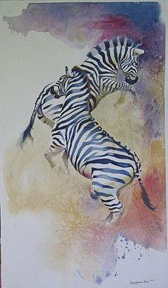 Paintings by Karen Laurence Rowe