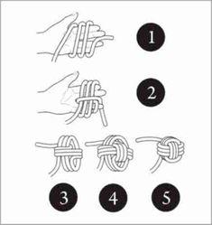 Bracelet Fil, Bracelet Crafts, Bracelet Knots, Knot Necklace, Braided Bracelets, Scout Knots, Monkey Fist Knot, Paracord Monkey Fist, Survival Knots