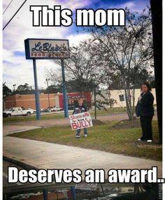 Well u deserved it