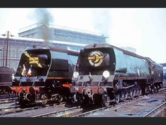 Southern Trains, Southern Railways, Merchant Navy, Bullen, Train Engines, Battle Of Britain, Steamers, Steam Locomotive, Double Trouble