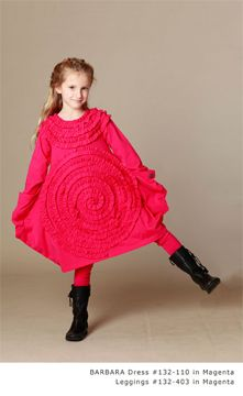 KidCuteTure leaps forward with their Fall 2013 Collection of cotton dresses and skirt forms with our most up-to-date color palette. See our complete Collection during the ENK Children's Club, March 10-12, 2013