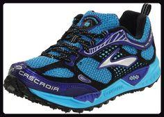 Brooks 1200851B545, Damen Sneaker, Blau (aquarius/kobalt/schwarz/silber), 42 EU / 8 UK - Sneakers für frauen (*Partner-Link)