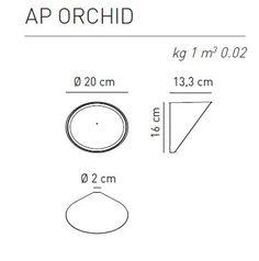 AXO Light Orchid Kinkiet piaskowy