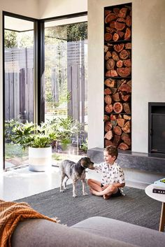 This stunningly renovated red-brick period abode in Melbourne is a celebration of modern family living, love and the enduring warmth of timber. Modern Family, Home And Family, Timber Table, Melbourne House, Level Homes, Australian Homes, Red Bricks, Living Spaces, Living Room