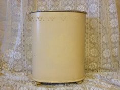 Vintage Waste Basket by TheCookieClutch on Etsy, $24.00
