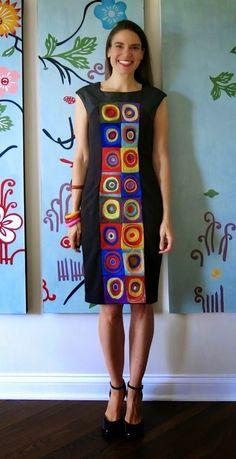 kandinsky dress
