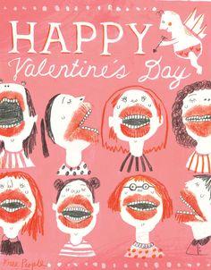 valentine - allison kerek illustration