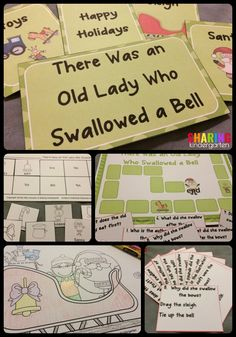 There Was an Old Lady Who Swallowed A Bell