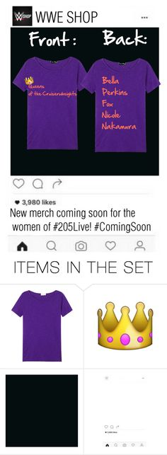 """WWE SHOP INSTAGRAM POST"" by derpycupcake500 ❤ liked on Polyvore featuring art"