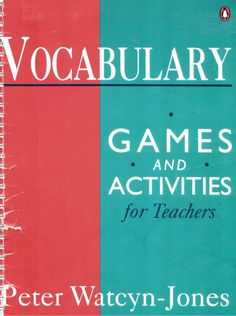 Very, very good book with a lot of games to get a good English class on basic level perhaps in high level too. I think so.
