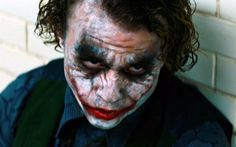 """Heath Ledger starring as The Joker, is shown in a scene from """"The Dark Knight."""" Description from honniball.rssing.com. I searched for this on…"""