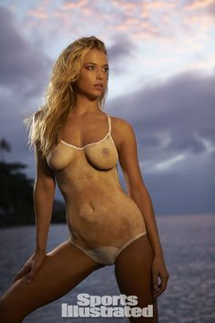 Hannah Ferguson Swimsuit Body Paint - Sports Illustrated Swimsuit 2014 - SI.com